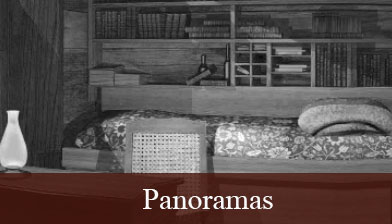 A glimpse into one of the bed rooms as seen on the Panaromas page
